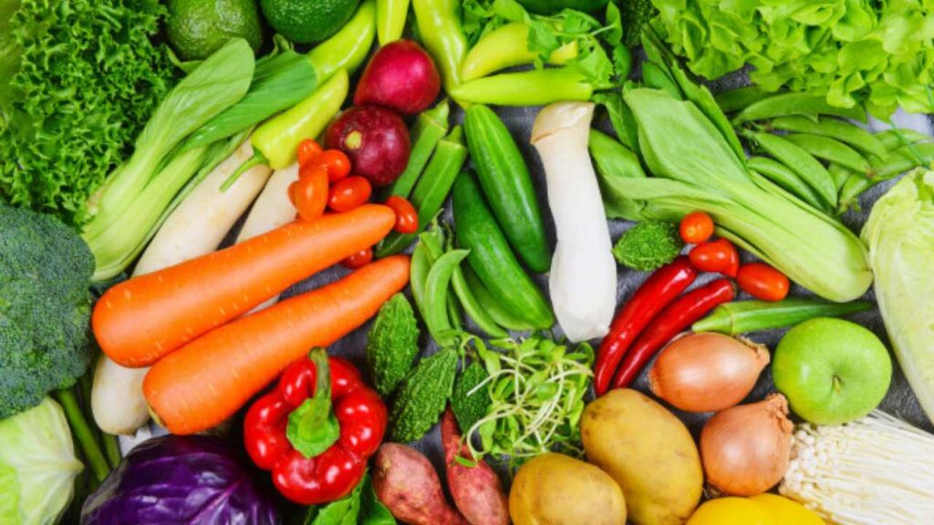 fruits and vegetables to eat in pcos